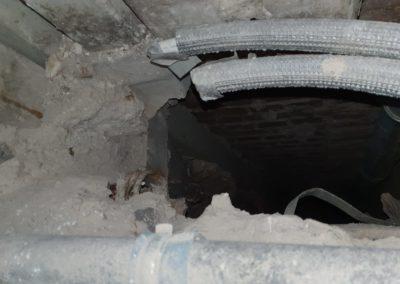 Sanierung von asbesthaltigen Lüftungskanäle durch AsbesTTech Darmstadt