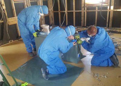 Fachgerechte Asbest Entsorgung von Nachtspeicheröfen durch AsbesTTech Darmstadt