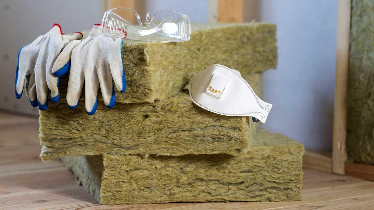Entfernung von Künstlicher Mineralfaser (Glaswolle / Steinwolle) | AsbesTTech Darmstadt